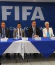 Los representantes de la Fifa, Concacaf y Fedefut hablaron en el Proyecto Goal sobre la suspensión del futbol guatemalteco. (Foto Prensa Libre: Carlos Vicente)
