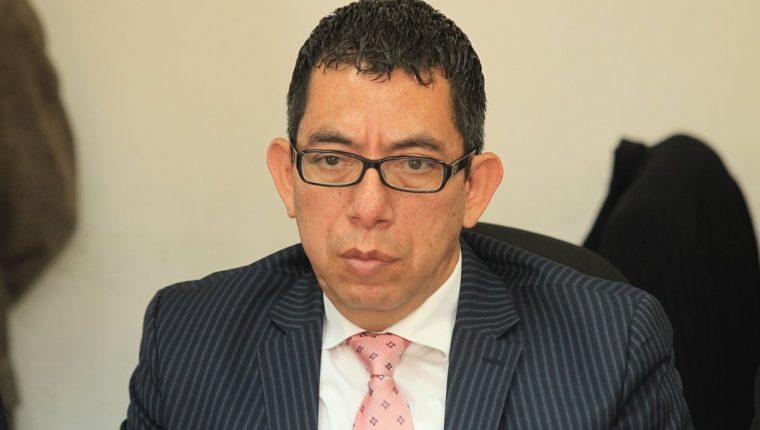 Omar Barrios, director del Centro de Estudios de Derecho (CEDE) (Foto Prensa Libre: Hemeroteca PL)