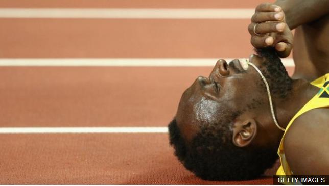 Los espectaculares números de la carrera de Usain Bolt, que terminó con una lesión y sin medalla