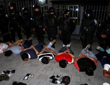 El Comando Antisecuestros de la PNC capturó en 2016 a 78 personas. (Foto Prensa Libre: Hemeroteca PL)