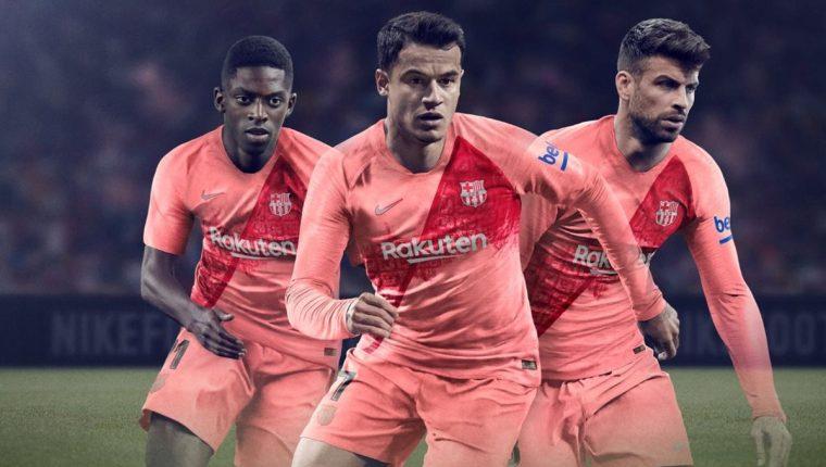 El FC Barcelona sorprende con un tercer uniforme 3699220fe072c