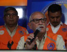 Sergio Cabañas, exsecretario de Conred. (Foto Prensa Libre: Hemeroteca PL)