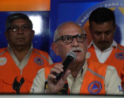 MP pide que Sergio Cabañas, exsecretario de Conred, declare ante juzgado por caso de erupción del volcán de Fuego