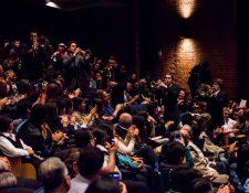 La Big Wy's Brass Band se presentó en el país durante el Festival Internacional de Jazz. (Foto Prensa Libre: Juan Pablo Vicente)