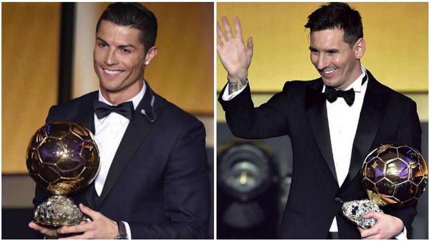 Cristiano Ronaldo y Lionel Messi en un nuevo duelo por el Balón de Oro