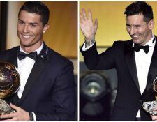 Cristiano Ronaldo y Lionel Messi vuelven a ser los protagonistas de los nominados al Balón de Oro al mejor jugador del mundo por France Footbaall. (Foto Prensa Libre: Hemeroteca)