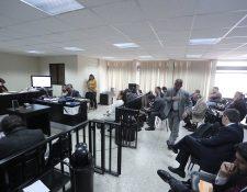 El juicio por el caso Igss Pisa Chiquimula se realiza en el Tribunal Undécimo Penal. (Foto Prensa Libre: Hemeroteca)