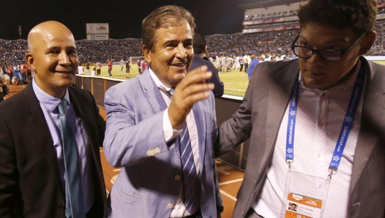 Los federativos de Honduras no presentarán ninguna denuncia ante la Fifa y preparan el partido por el repechaje contra Australia. (Foto Prensa Libre: AFP).