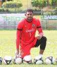José Calderón es la principal figura de Guastatoya. El panameño busca jugar nuevamente la Concacaf. (Foto Prensa Libre: Edwin Fajardo)