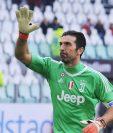 Gianluigi Buffon cumplió su partido 500 en el triunfo contra la Fiorentina. (Foto Prensa Libre: EFE).