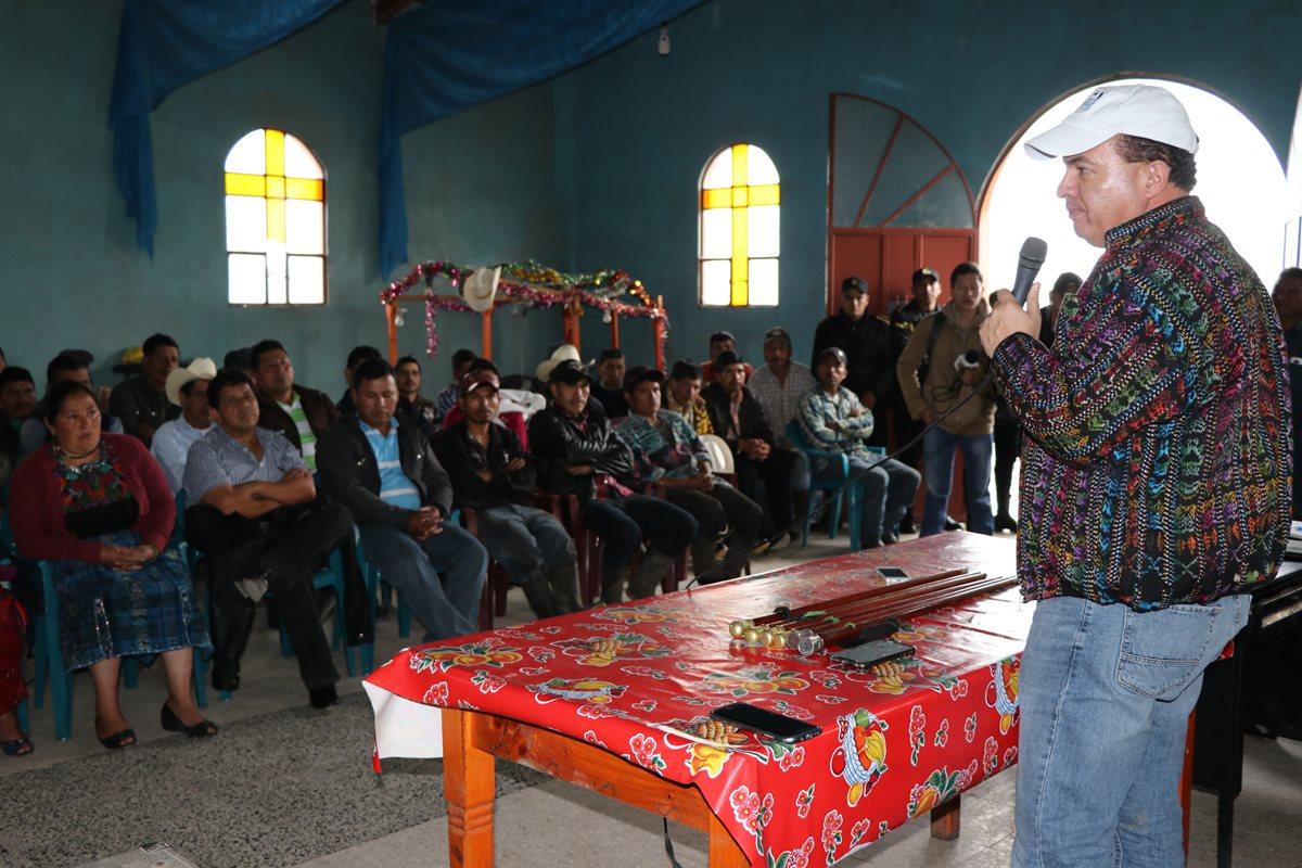 Proyectos agrícolas para Ixchiguán y Tajumulco tendrán una inversión de Q51 millones