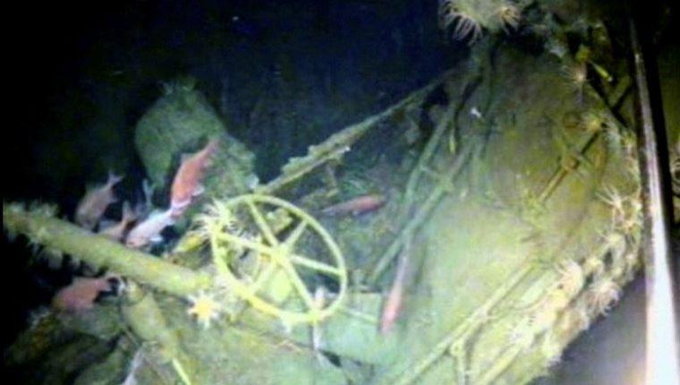 El submarino navegada por aguas de Nueva Bretaña y Nueva Irlanda cuando desapareció. (Foto Prensa Libre: Ministerio de Defensa de Australia)