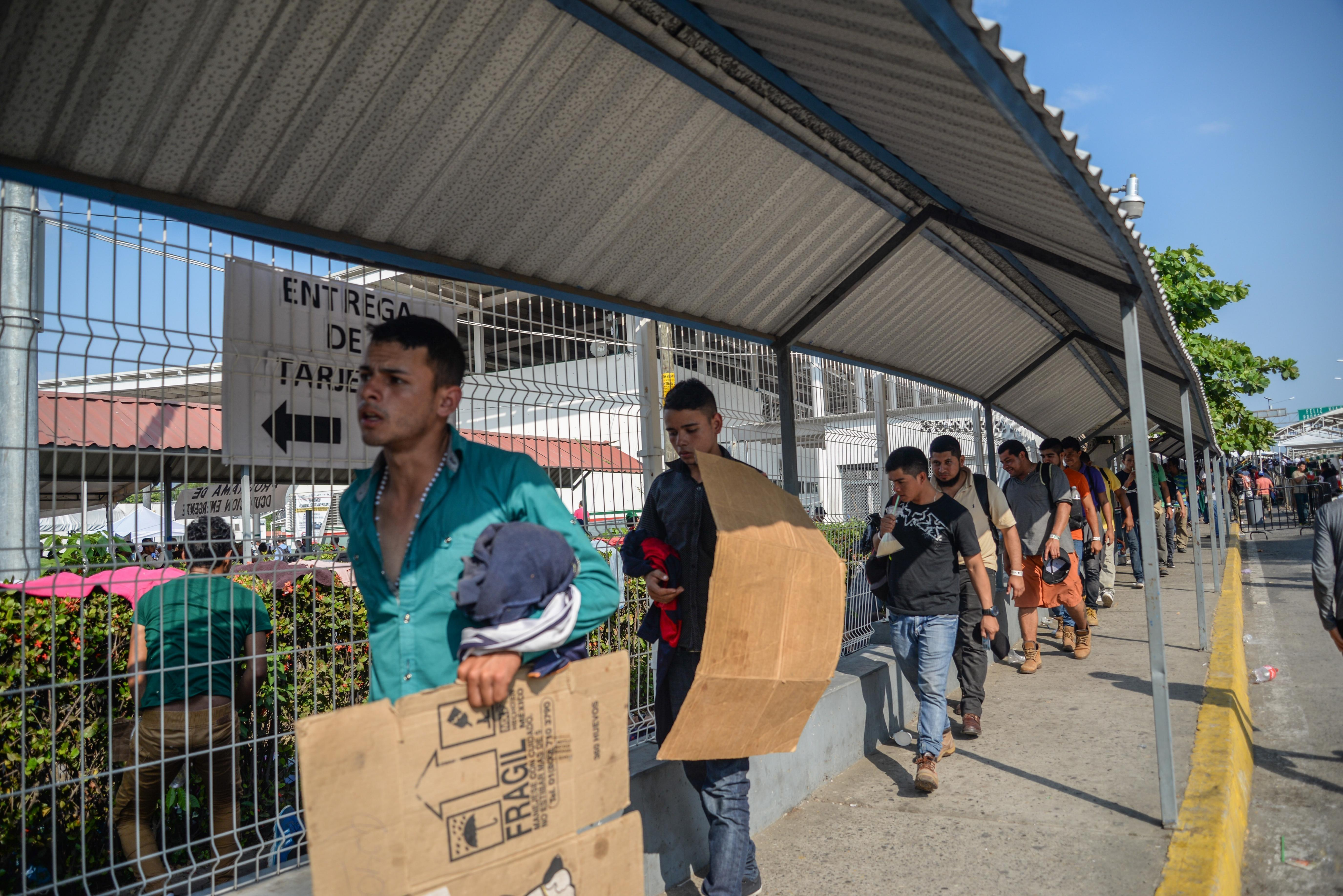 Más de 13 mil Tarjetas de Visitante por Razones Humanitarias otorgó México desde octubre pasado. (Foto Prensa Libre: Hemeroteca PL)