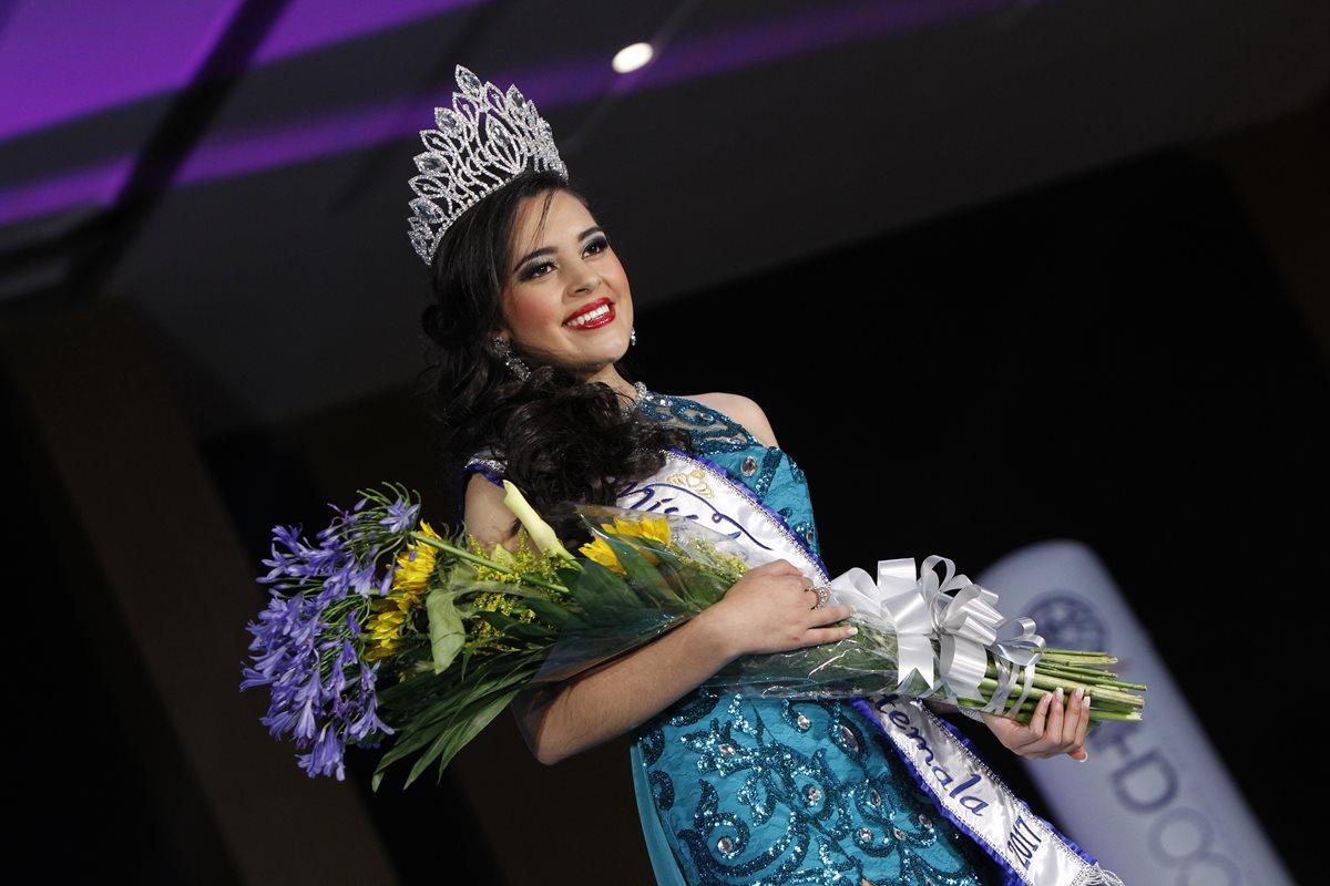 Zuleny Ramirez es la nueva Miss Teen Guatemala 2017. (Foto Prensa Libre: Paulo Raquec).
