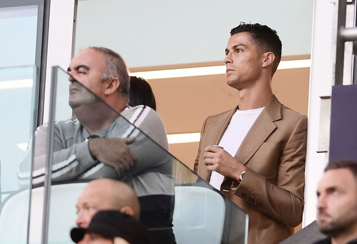Cristiano Ronaldo salió al paso de las acusaciones de la exmodelo estadounidense Kathryn Mayorga. (Foto Prensa Libre: AFP).