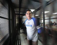 Jabes Meda deberá enfrentar proceso por varios delitos. (Foto Prensa Libre: Érick Ávila)