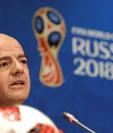 Gianni Infantino quiere que el Mundial de Qatar cuente con 48 selecciones. (Foto Prensa Libre: EFE)