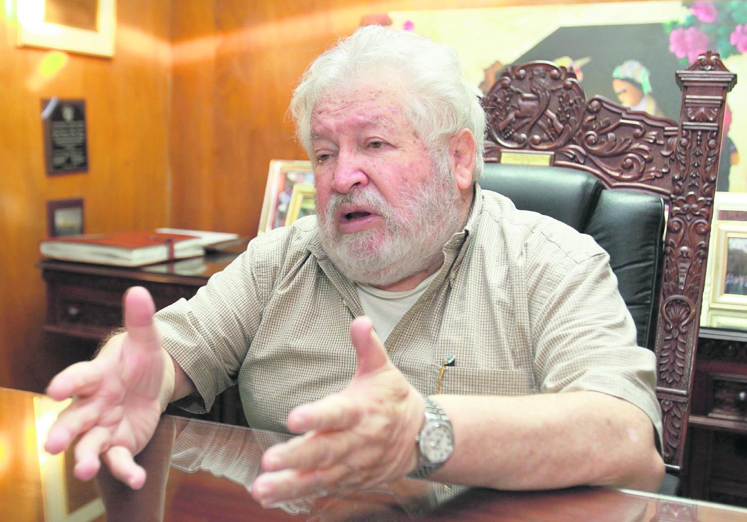 Juan Francisco Reyes López, vicepresidente de la República 2000-2004. (Foto Prensa Libre: Hemeroteca PL)