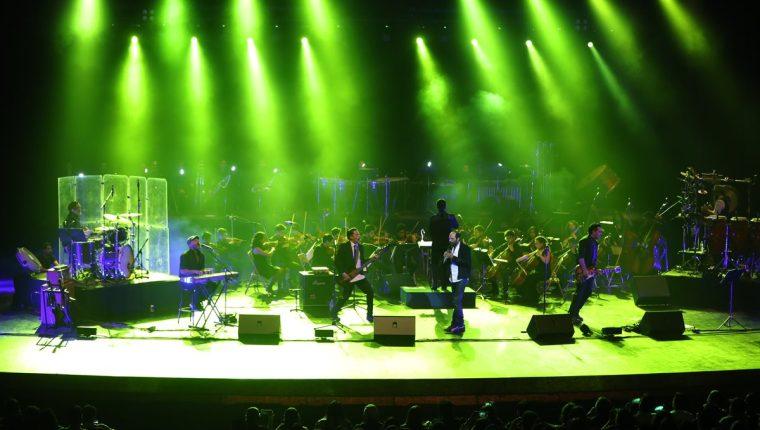 Bohemia Suburbana contó con un sonido estupendo en el Teatro Nacional, gracias al talento de los músicos del Sistema de Orquestas de Guatemala. (Foto Prensa Libre: Keneth Cruz)