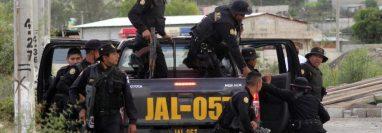El menor fue capturado mediante operativos de la Policía Nacional Civil, en Jalapa. (Foto Prensa Libre: Cortesía PNC)
