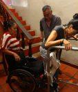Marjorie lucha cada día para salir adelante. (Foto Prensa Libre: Álvaro Interiano).