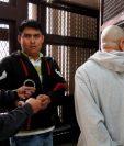 Sergio Valdemar Cardona Reyes, fue condenado a 30 años de cárcel por la muerte de los periodistas Danilo López y Federico Salazar en Mazatenango. (Foto Prensa Libre: Paulo Raquec)