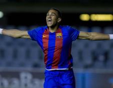 La promesa del Barcelona firmó por cinco temporadas con el Mónaco francés. (Foto Prensa Libre: Sport.es)