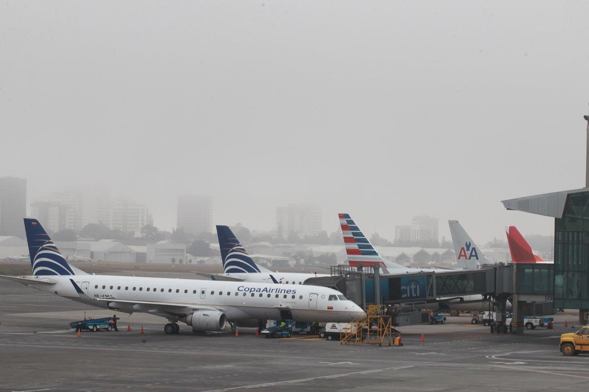 Aeropuerto Internacional La Aurora, sin servicio de telefonía por falta de pago. (Foto Prensa Libre: Hemeroteca PL)
