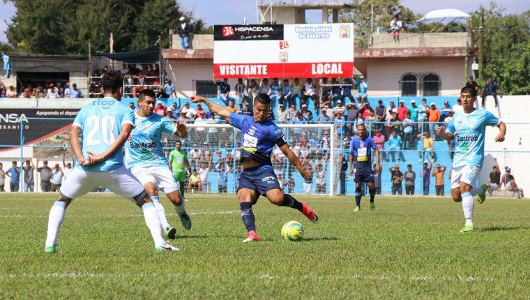 Deportivo Suchitepéquez inició el Clausura 2018 con dos derrotas. (Foto Prensa Libre: Hemeroteca PL)