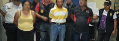 Los tres sospechosos fueron detenidos en febrero de 2017, en Zacapa. (Foto Prensa Libre: Hemeroteca)