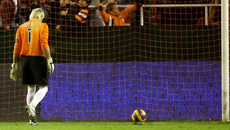 Santiago Cañizares se retiró en el 2008, después de una carrera exitosa. (Foto Prensa Libre: Hemeroteca PL)