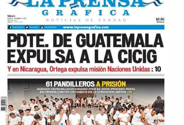Las medidas contra misiones de la ONU en Guatemala y Nicaragua fueron la constante en los medios internacionales.