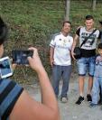 Orlando Moreira es el defensa paraguayo, de Cobán Imperial, quiere ser como su hermano y jugar en un equipo como River Plate. (Foto Prensa Libre: Eduardo Sam Chun)