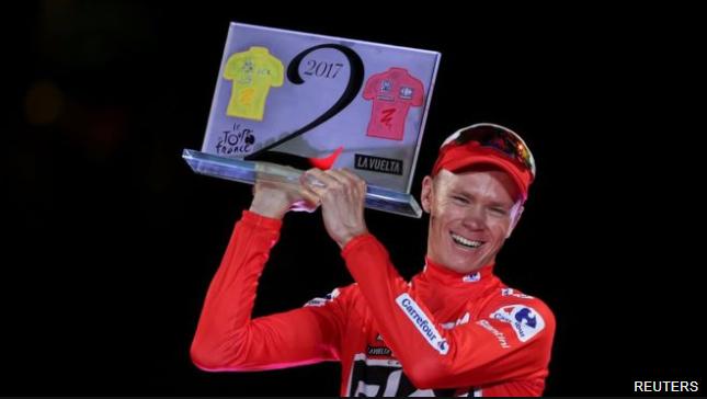 La cruel manera con la que Chris Froome aniquila a sus rivales y logró un hito olvidado del ciclismo