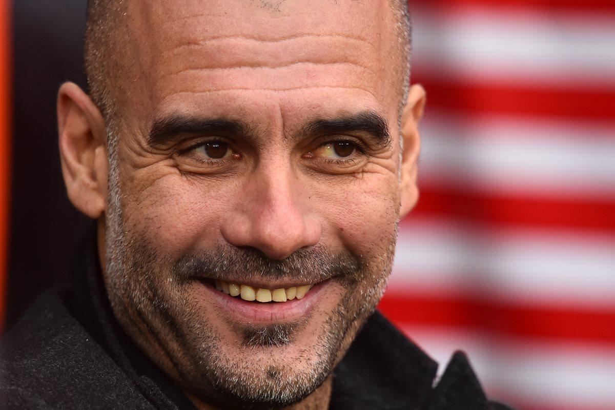 Josep Guardiola busca el bicampeonato con el Manchester City. (Foto Prensa Libre: AFP)