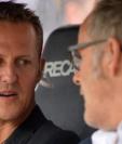 Una de las últimas imágenes tomadas a Michael Schumacher antes de su accidente en los Alpes franceses en diciembre de 2013. (Foto Prensa Libre: BBC News Mundo)