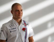 El finlandés Valtteri Bottas es el nuevo piloto de Mercedes para la temporada 2017 de la Fórmula Uno. (Foto Prensa Libre: AFP)