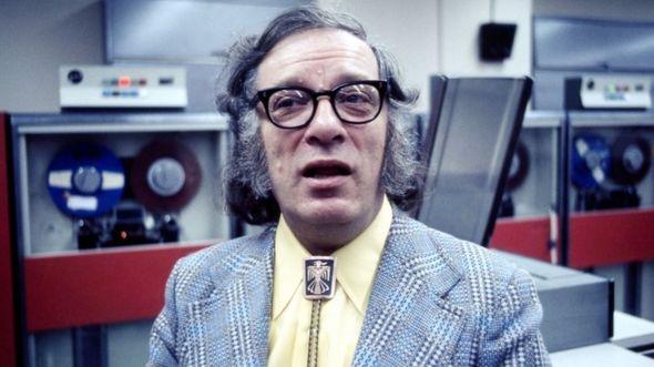 Isaac Asimov es uno de los más famosos autores de ciencia ficción.
