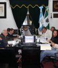 El presupuesto municipal no fue aprobado por los tres concejales de oposición. (Foto Prensa Libre: Julio Sicán)