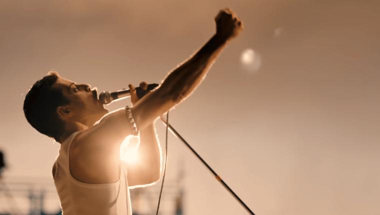 "Rami Malek como Freddie Mercury en ""Bohemian Rhapsody"", que mostró su primer avance (Foto Prensa Libre: YouTube / 20th Century Fox)."