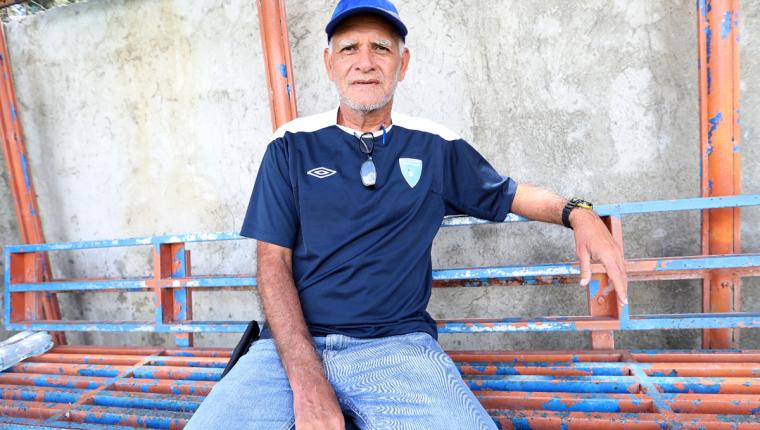 El técnico guatemalteco Wálter Claverí convocará la próxima semana para los juegos amistosos en Estados Unidos. (Foto Prensa Libre: Edwin Fajardo)