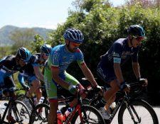 Hoy se espera una etapa emocionante y el protagonismo de los pedalistas nacionales. (Foto Prensa Libre: Norvin Mendoza)