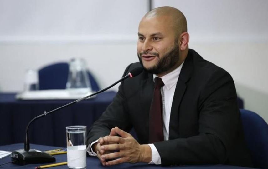 Leonel Villamar fue también candidato a ocupar el cargo de Superintendente de Administración Tributaria en marzo del presente año. (Foto Prensa Libre: Hemeroteca)