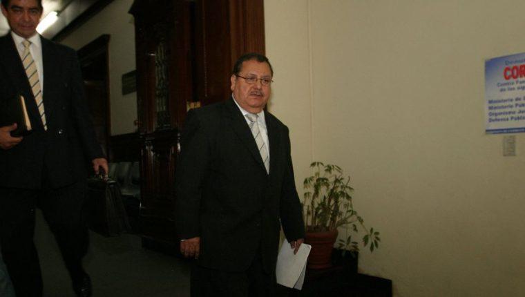 Rafael Salguero también está vinculado al escándalo de corrupción que estalló en la Fifa. (Foto Prensa Libre: Hemeroteca)