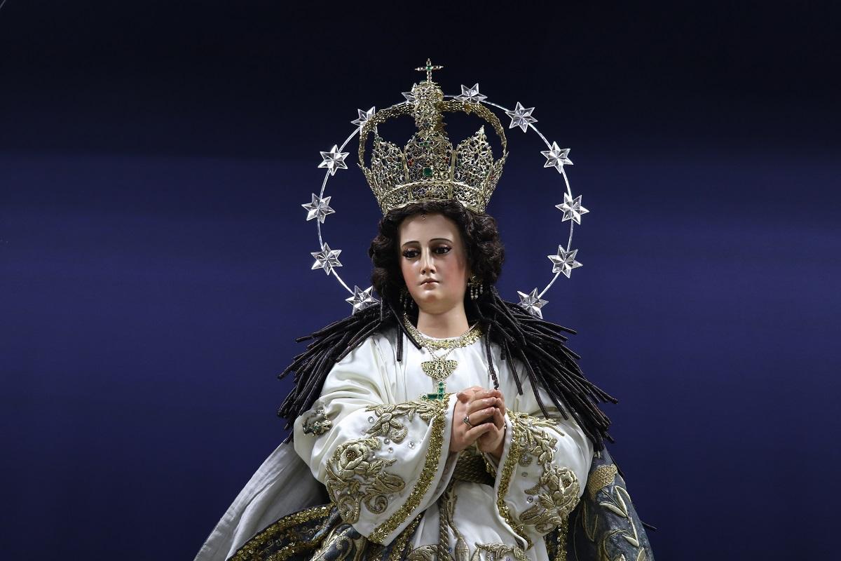 Virgen de Concepción regresa a su sitial y saldrá en procesión por tercera vez