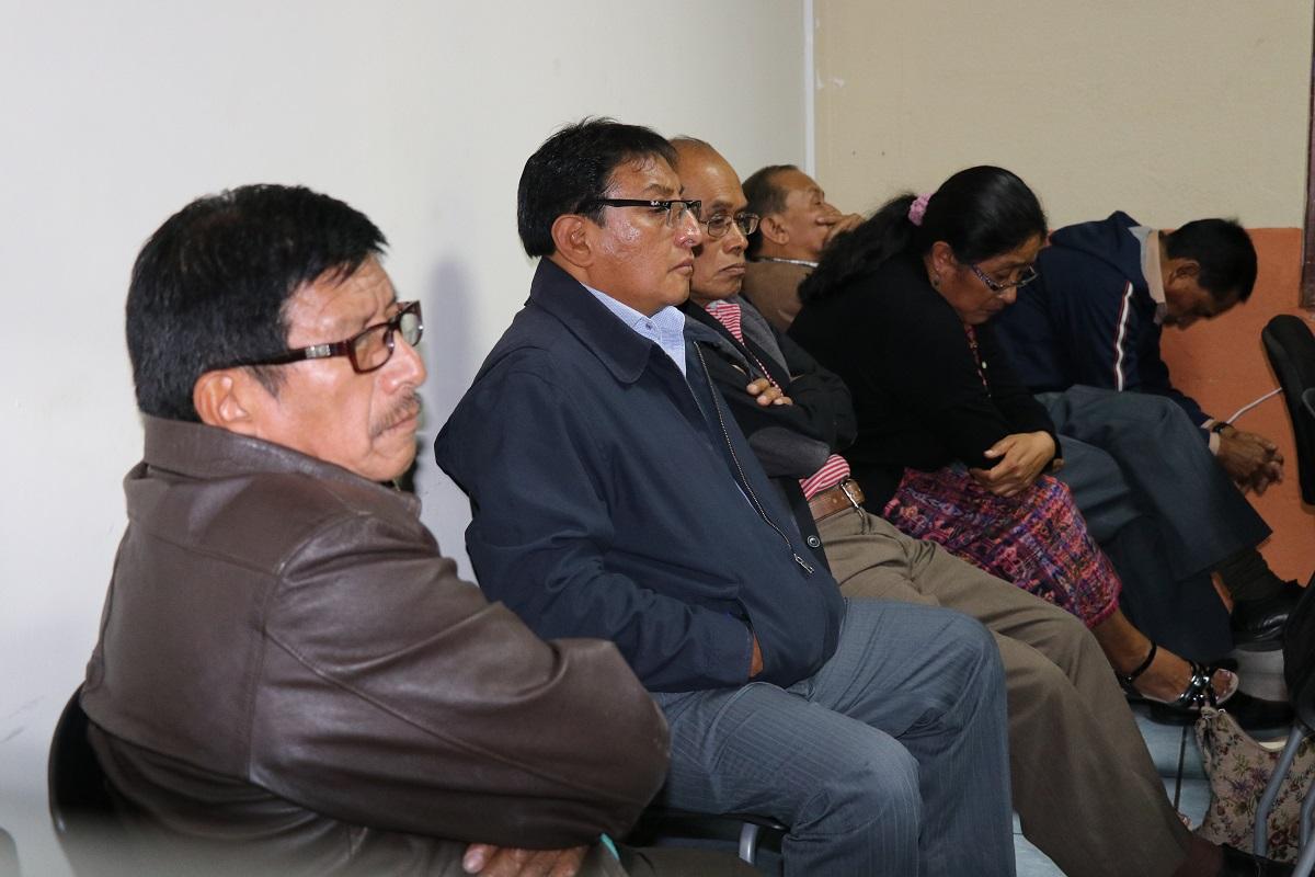 El Concejo de San Antonio Aguas Calientes, Sacatepéquez, quedó ligado a proceso por el delito de retención a la información pública. (Foto Prensa Libre: Nery Gálvez)