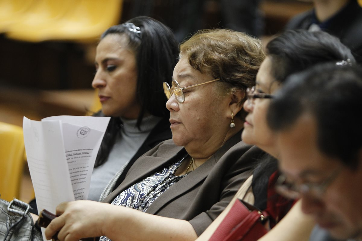 Jueza Marta Sierra de Stalling es procesada por el caso Bufete de la impunidad, por haber otorgado beneficios a los presuntos jefes de la red La Línea. (Foto Prensa Libre: Hemeroteca)