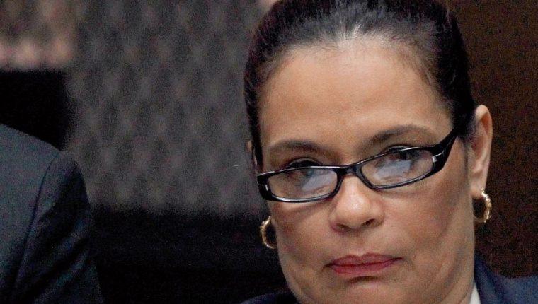Foto tomada el 24 de agosto en una audiencia del caso La Línea. (Foto Prensa Libre: HemerotecaPL)