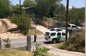 Migrante guatemalteca murió de un balazo en Laredo, Texas. (Foto Prensa Libre: Tomada del video)