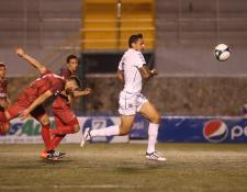 El mexicano Abraham Carreño es la carta ofensiva de Comunicaciones en el Apertura 2018. (Foto Prensa Libre: Érick ÁVila)